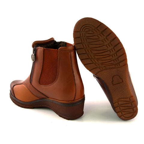 Image of Women's Ginger Leather Comfort Boots