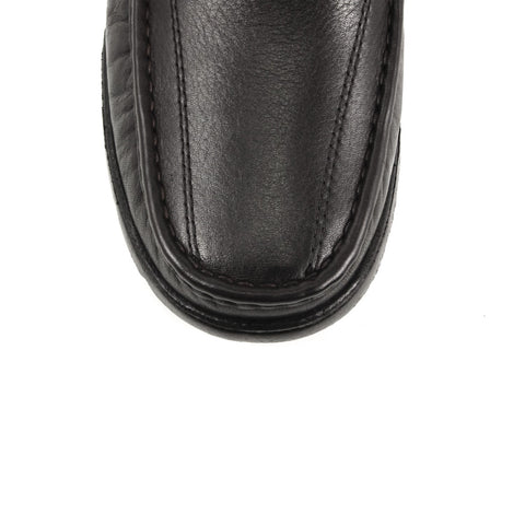 Image of Men's Black Leather Comfort Shoes