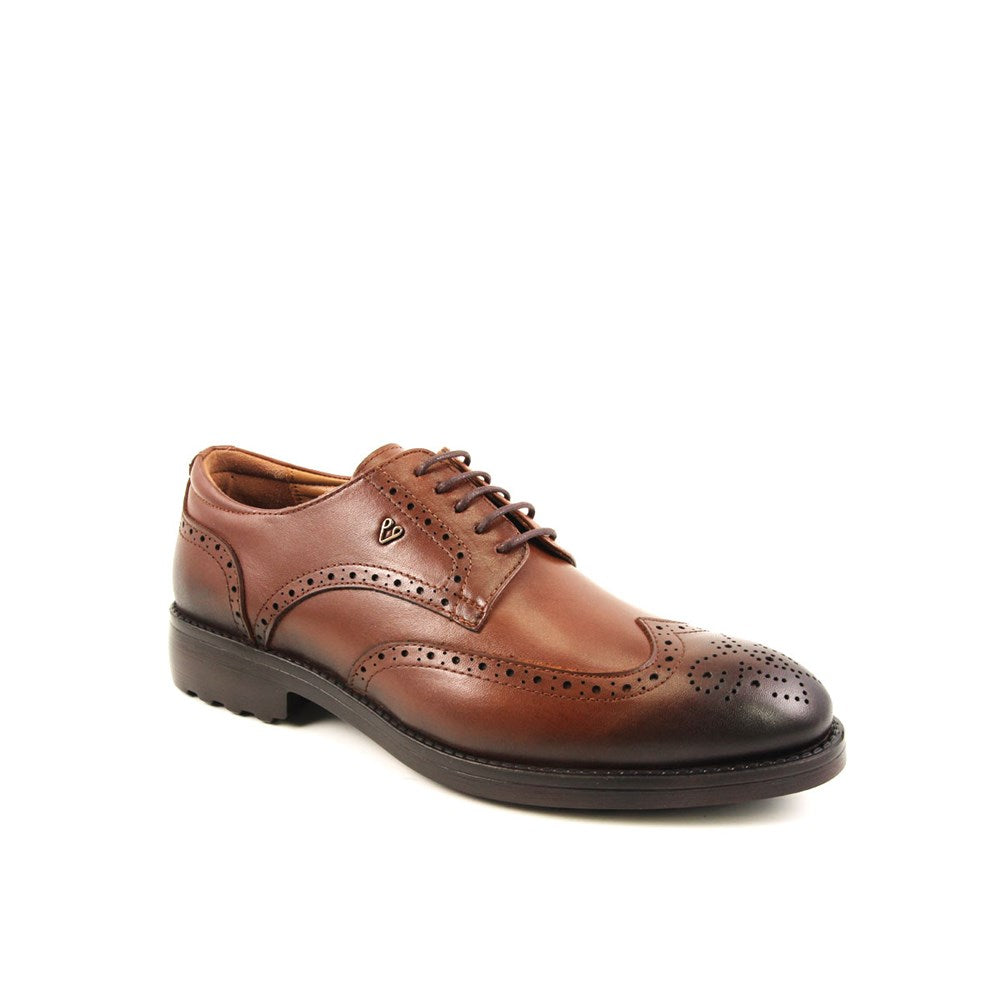 Men's Ginger Leather Comfort Shoes