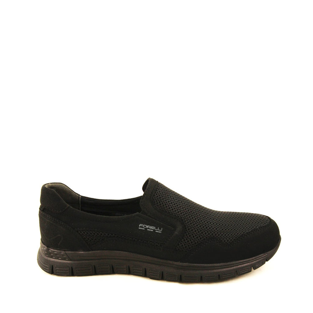 Men's Black Comfort Shoes