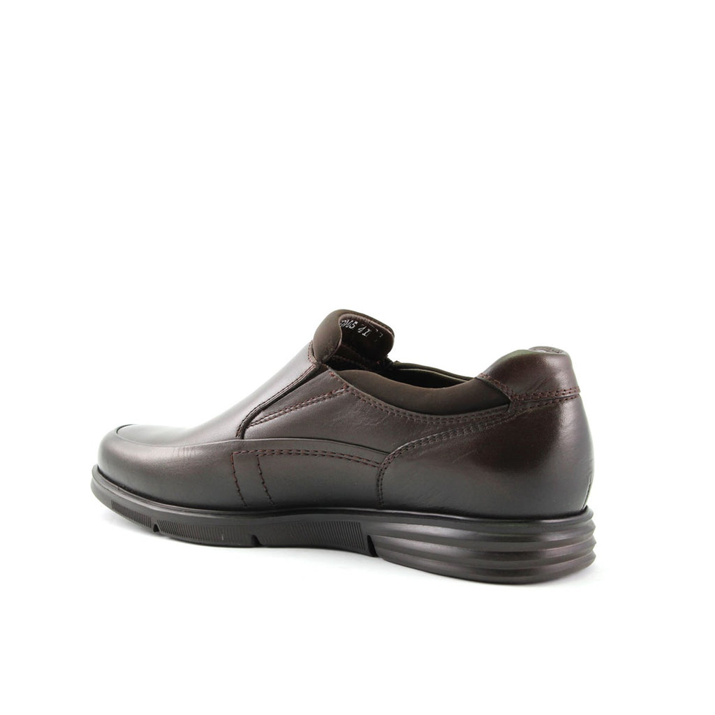 Men's Brown Leather Comfort Shoes