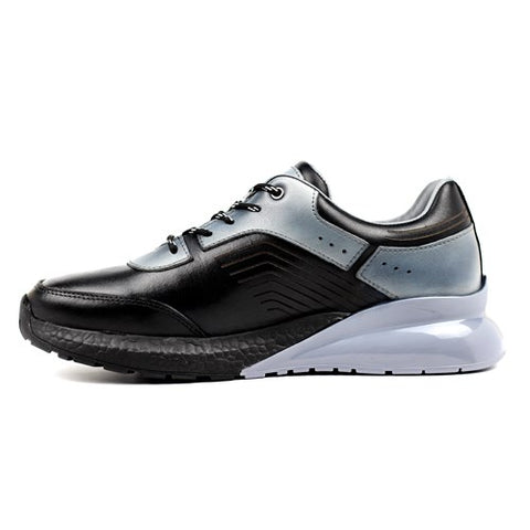 Men's Black - Grey Casual Shoes