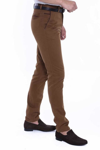 Image of Men's Garnish Brown Pants