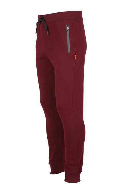 Men's Claret Red Sport Pants