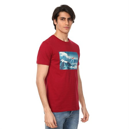 Image of Men's Printed Short Sleeve T-shirt