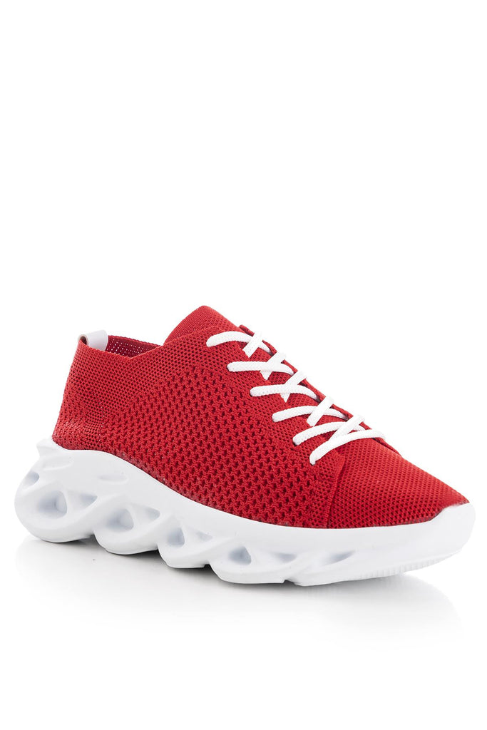 Women's Red Sport Shoes