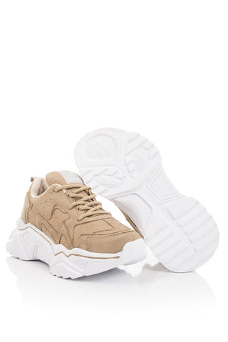 Image of Women's Sand Beige Sport Shoes