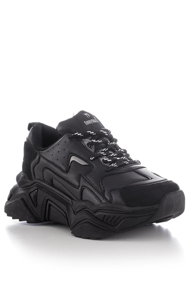 Women's Black Sport Shoes