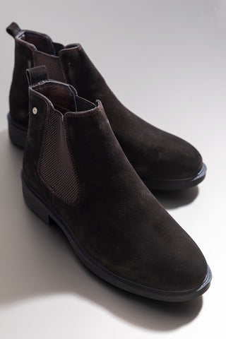 Image of Men's Black - Brown Boots