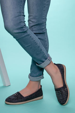 Image of Women's Gemmed Flat Shoes