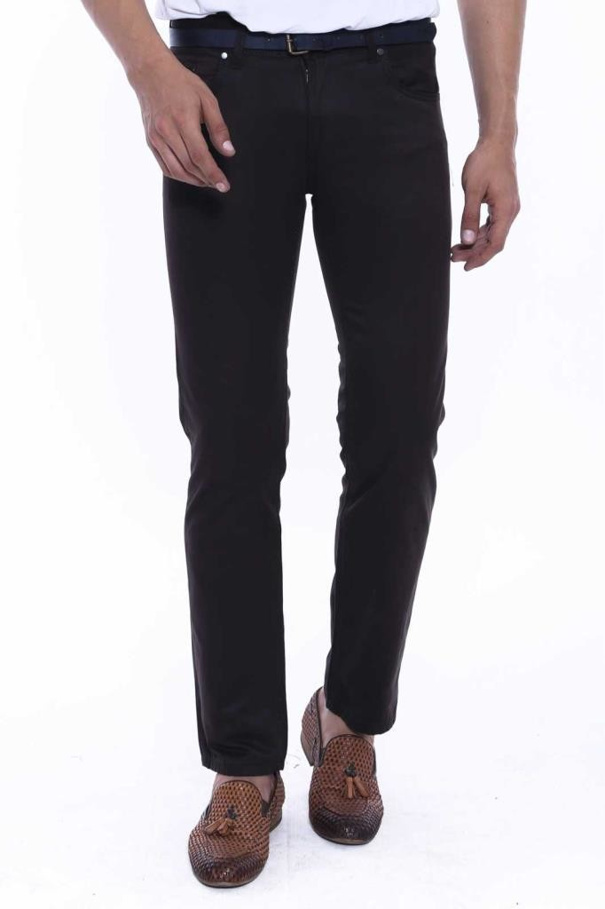 Men's Pocket Black Jeans