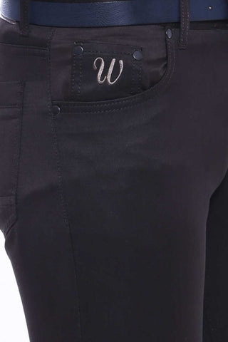 Image of Men's Pocket Black Jeans