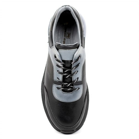 Image of Men's Black - Grey Casual Shoes