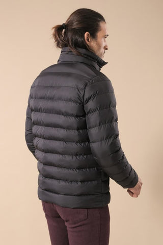 Image of Men's Black Blown Coat