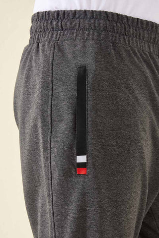 Men's Pocket Classic Melange Anthracite Sweatpants