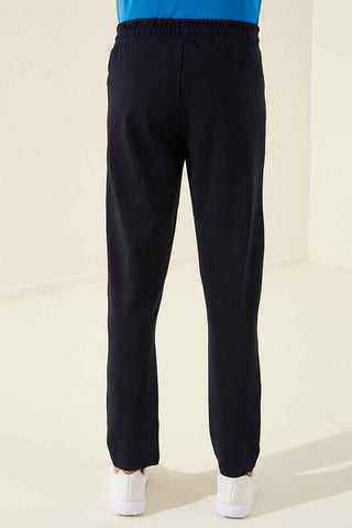 Image of Men's Pocket Navy Blue Classic Sweatpants