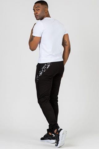 Men's Basic Black Sweatpants