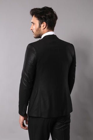 Men's Black Formal Suit Set