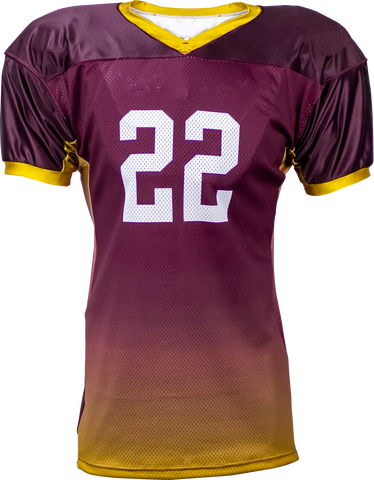 FADE - Men's Custom Sublimated Football Jersey