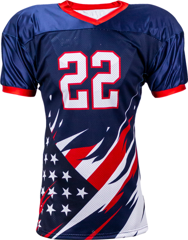 LIBERTY - Men's Custom Sublimated Football Jersey