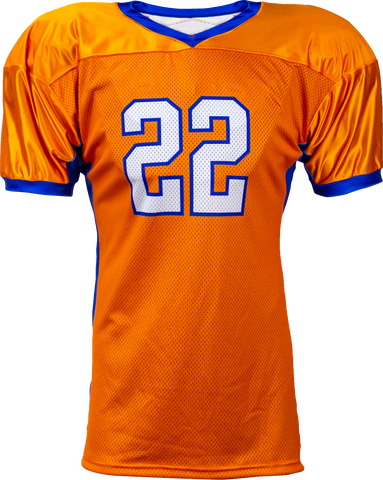SOLID - Men's Custom Sublimated Football Jersey