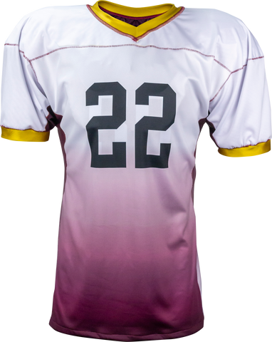 FADE - Men's Custom REVERSIBLE Sublimated Football Jersey