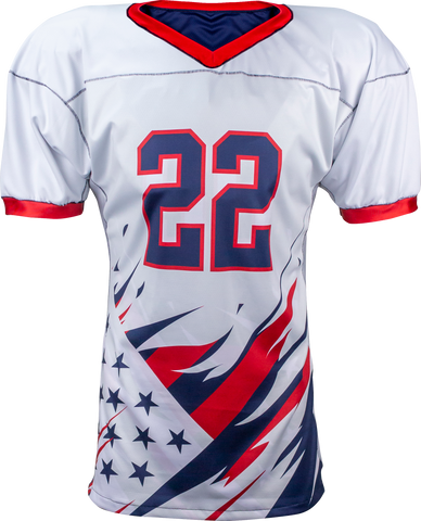 LIBERTY - Men's Custom REVERSIBLE Sublimated Football Jersey