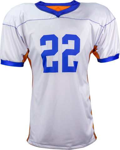 SOLID - Men's Custom REVERSIBLE Sublimated Football Jersey
