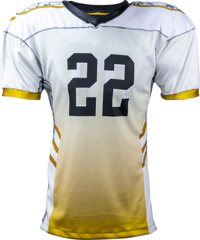 STONE - Men's Custom REVERSIBLE Sublimated Football Jersey