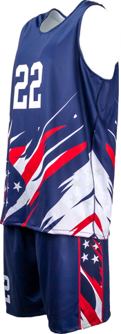 FitUSA Liberty REVERSIBLE Sublimated Men's Basketball Jersey