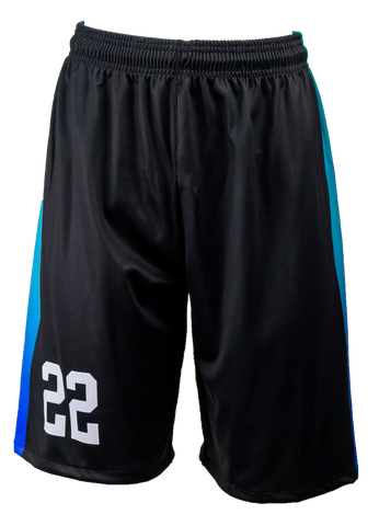 FitUSA Fade REVERSIBLE Sublimated Women's Basketball Shorts