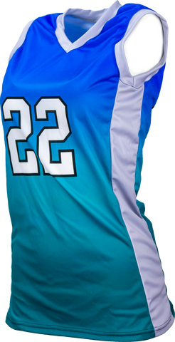 FitUSA Fade Sublimated Women's Basketball Jersey