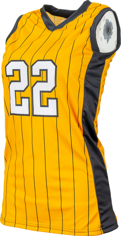 FitUSA Pinstripe Sublimated Women's Basketball Jersey