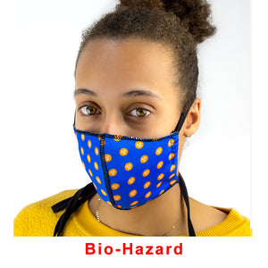 Fashion Style Fitted Facemask - Decorated