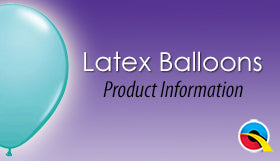 Latex Balloons Product Information