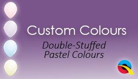 Double Stuffed Pastel Colours