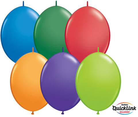 "12"" Quick Link Carnival Assortment #15347 - Pack Of 50"