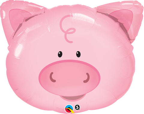 "30"" Shape Foil Playful Pig SW #16202 - Each (pkgd.)"