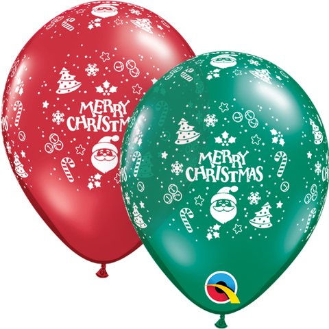 "05"" Round Emerald & Ruby Christmas Ornaments-A-Round #16372 - Pack of 100"