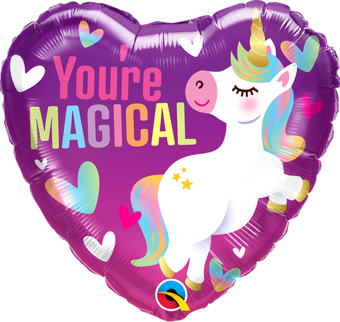 "18"" Heart Foil You're Magical Unicorn #16757 - Each (Pkgd.)"