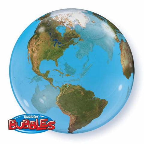 "22"" Single Bubble Planet Earth #16871 - Each"