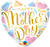 "18"" Heart Foil Mother's Day Pastel Hearts #17444 - Each (Pkgd.)"