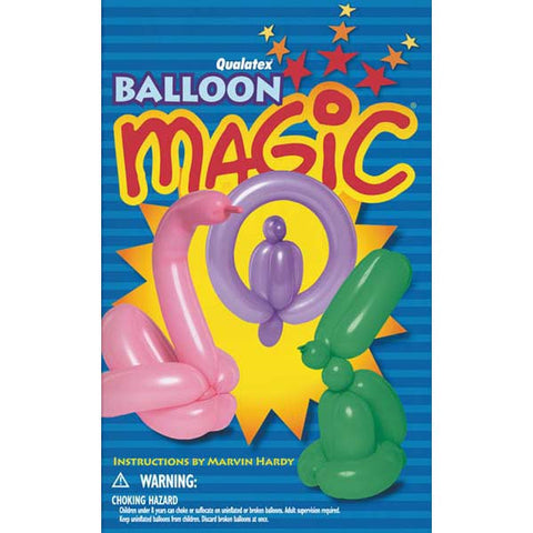 Balloon Magic Paperback Book #19758 - Each