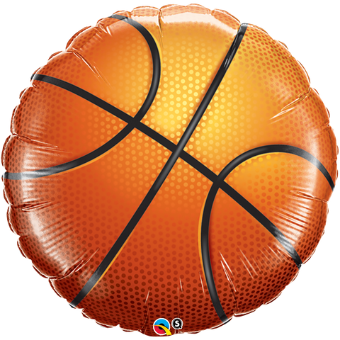 "36"" Round Foil Basketball #21542 - Each (SW Pkgd.)"