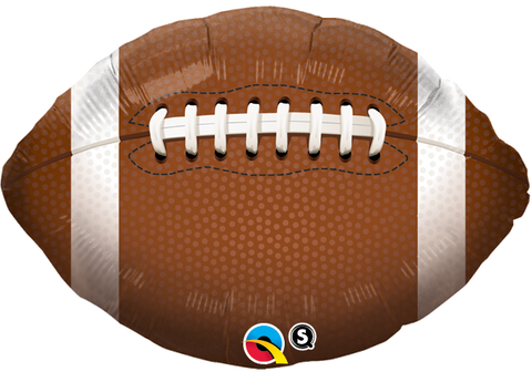 "18"" Shape Foil Football #21819 - Each (Pkgd.)"