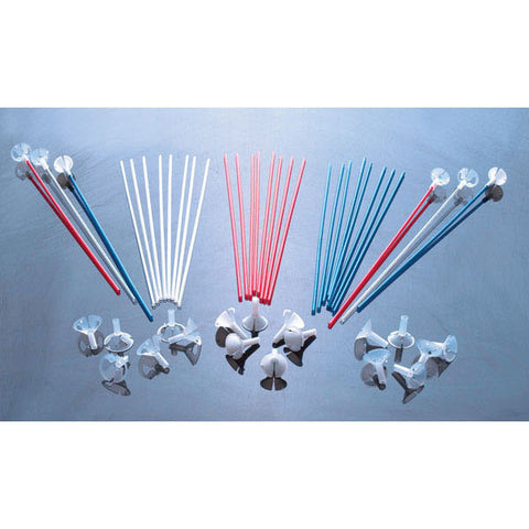 "Sparkler Balloon Sticks 16"" Blue #25561 - Pack Of 100"
