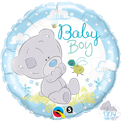 "18"" Round Foil Tiny Tatty Teddy Baby Boy #28172 - Each (Pkgd.)"