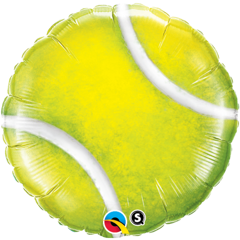 "18"" Round Foil Tennis Ball #21893 - Each (Pkgd.)"