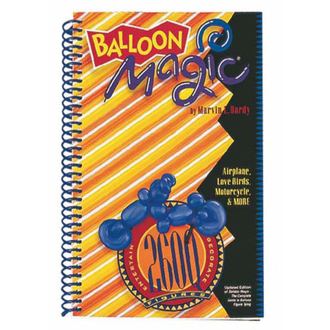 Balloon Magic 260Q Figure Book-Englsh #31953 - Each