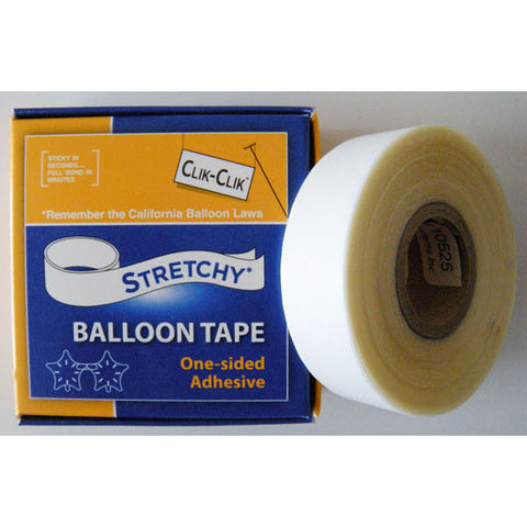 Stretchy Balloon Tape (25Ft/7.6M Per Roll) #32119 - Each